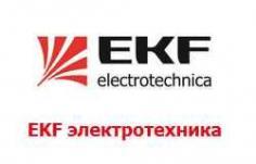 Разъемы силовые EKF