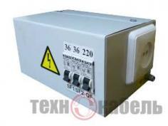 Ящик с понижающим трансформатором ЯТП-0,25-220/12-2-IP31-УХЛ3