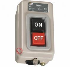 Выключатели кнопочные с блокировкой серии ВКИ