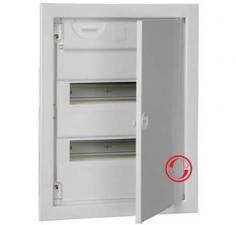 Пластиковые модульные корпуса с металлической дверкой КМПв, IP30