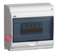 Боксы для автоматических выключателей модульной КМПн, IP20, IP30, IP31